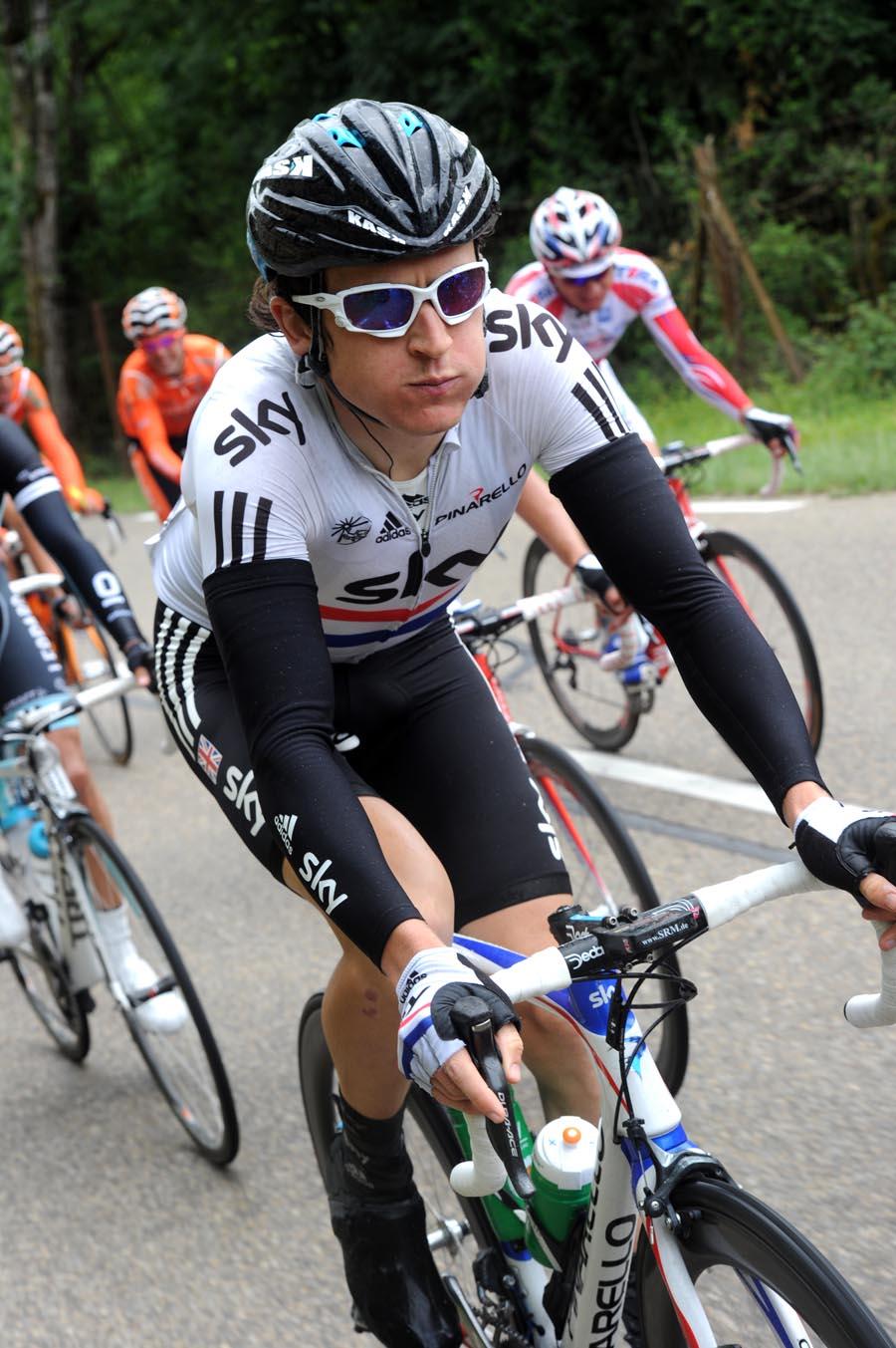 Geraint Thomas, Criterium du Dauphine 2011, stage two