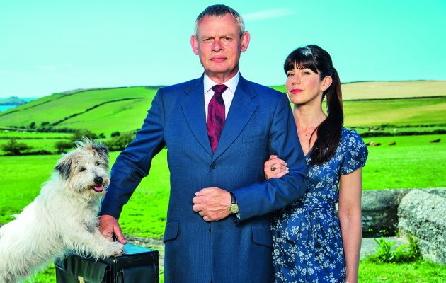 Samantha Spiro I Spent Doc Martin Lying In A Ditch