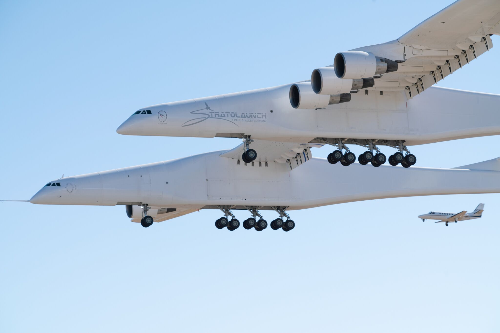 What It Was Like to Fly the 'Roc' — Stratolaunch's Massive Rocket