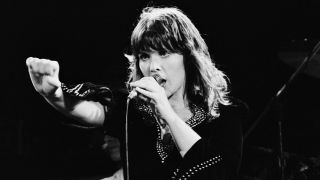 Heart's Ann Wilson on stage in the 1970s
