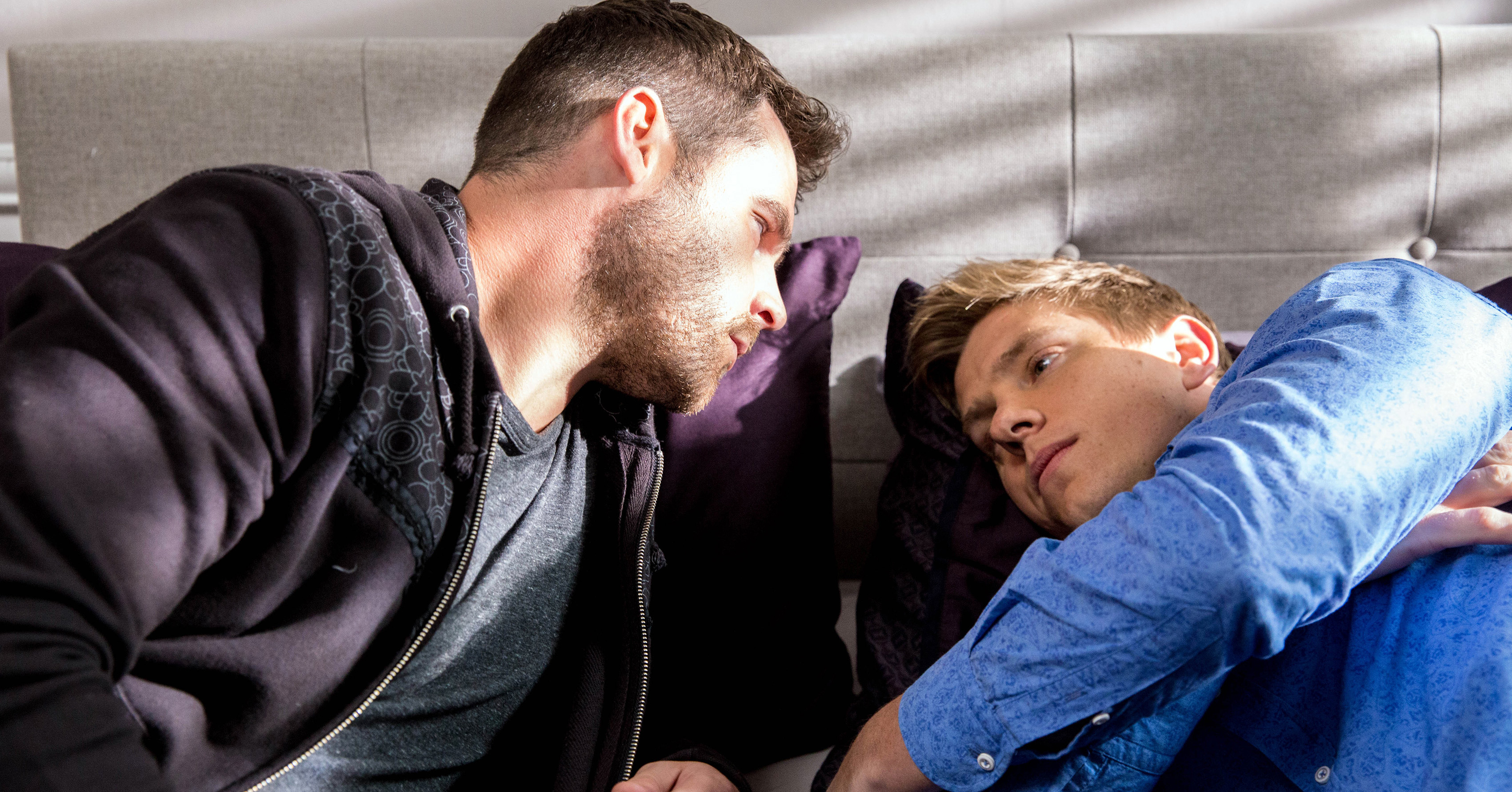 Robert Sugden, Aaron Dingle, Emmerdale