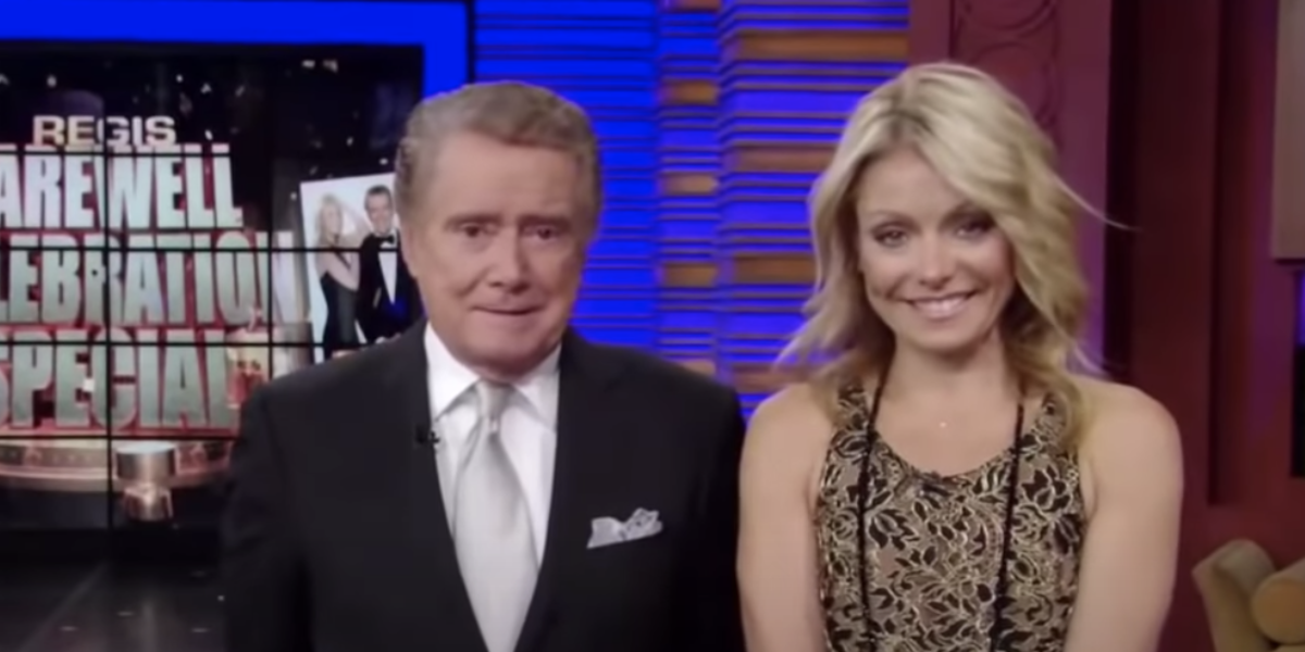 regis philbin final show live with regis and kelly ripa screenshot