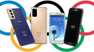 Samsung phones at the Olympics