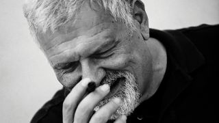 A portrait of composer Fabio Frizzi
