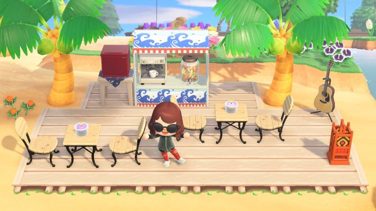 Animal Crossing: New Horizons screenshot of game in play