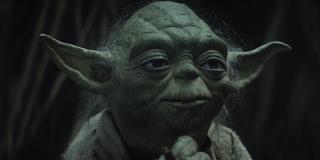 Yoda in Empire Strikes Back