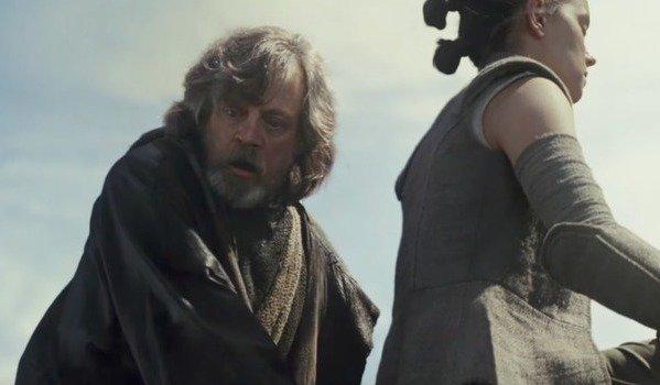 Luke in fear of Rey's power