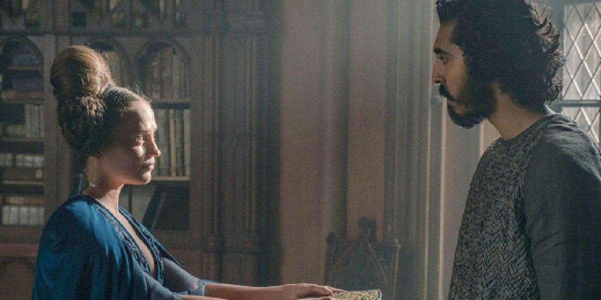 Alicia Vikander alongside Dev Patel in trailer for the Green Knight.
