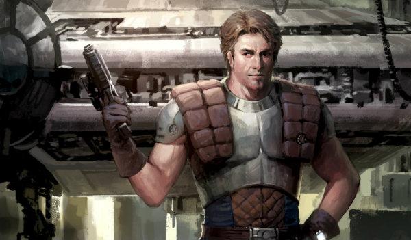 Dash Rendar Star Wars