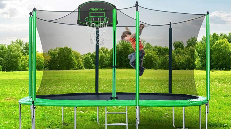 cheap trampoline deals: Merax 12FT Trampoline