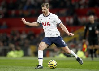 Jan Vertonghen hints at leaving Tottenham when his current deal ends this summer