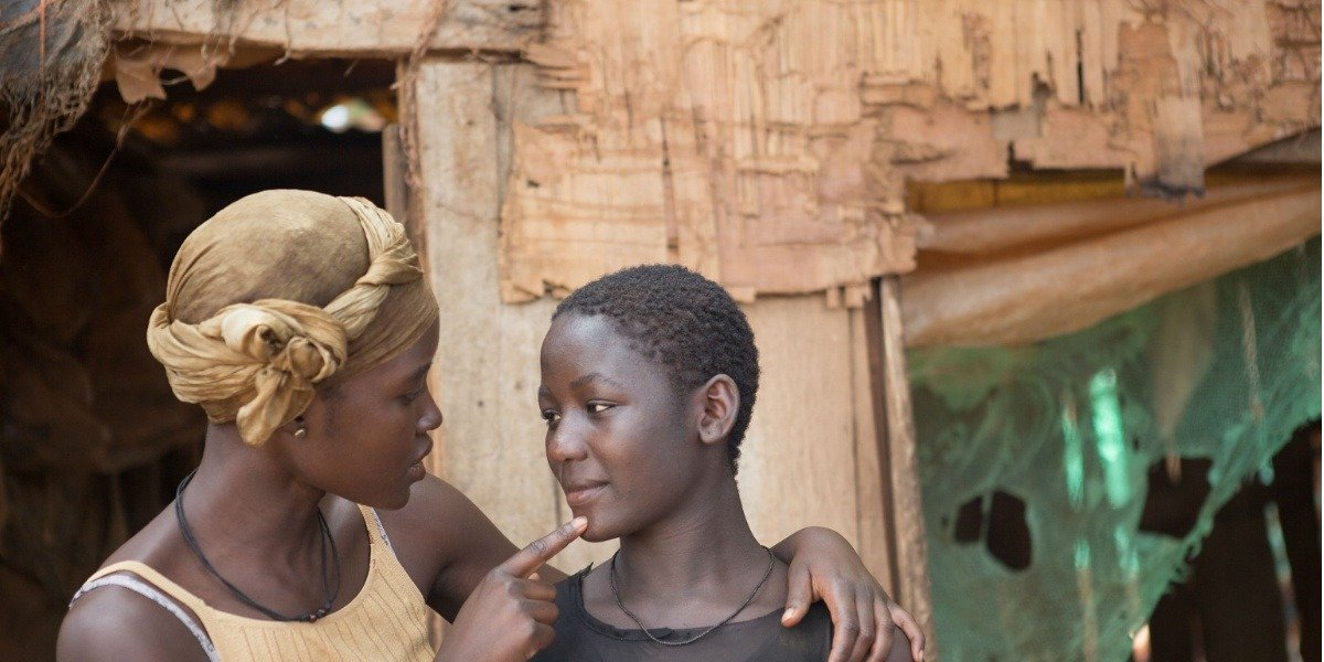 Madina Nalwanga and Lupita Nyong'O in Queen Of Katwe