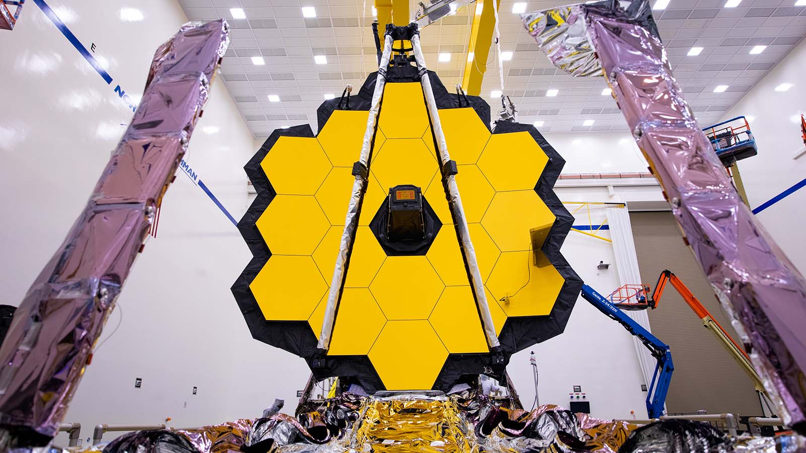 The James Webb Space Telescope In A Clean Room At A NASA Facility