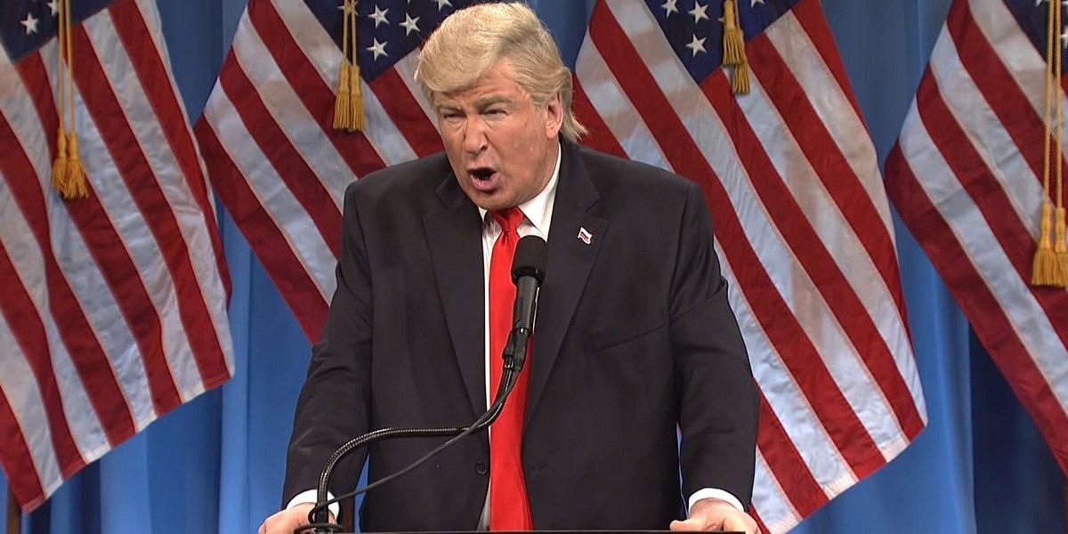 Donald Trump Alec Baldwin Saturday Night Live NBC