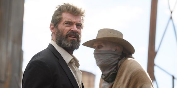 Wolverine and Caliban in Logan