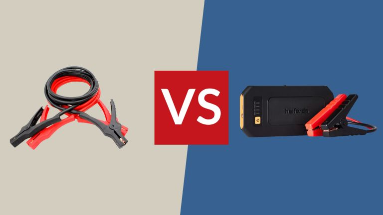 Portable Jump Starter vs Jump Cables
