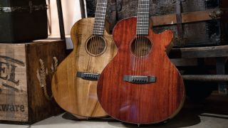 Cort has introduced the SFX-Myrtlewood acoustic