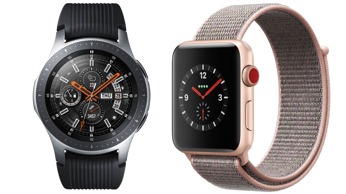 Samsung Galaxy Watch vs Apple Watch 3
