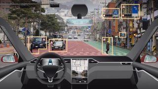 Draper driverless car