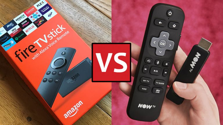 Now TV Smart Stick and Amazon Fire TV Stick
