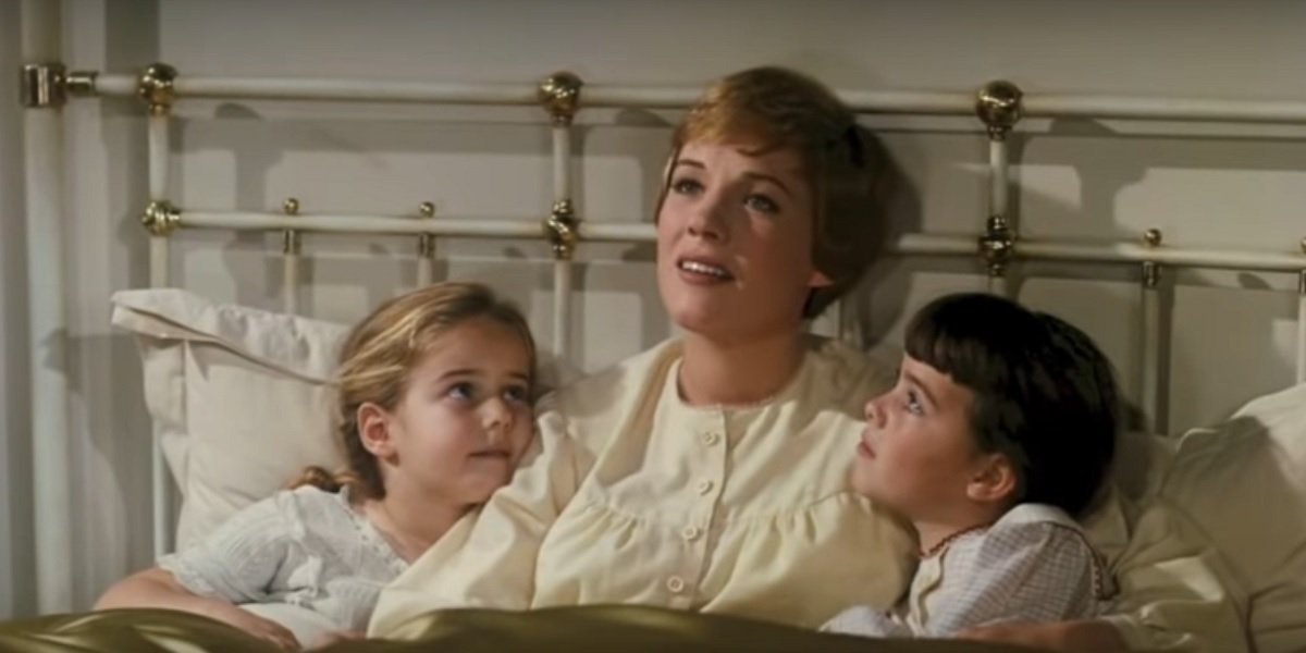 Julie Andrews in Rodgers and Hammerstein's The Sound of Music