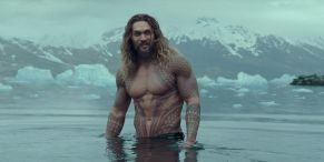 Jason Momoa Shares Shirtless Photo While On Break From Filming