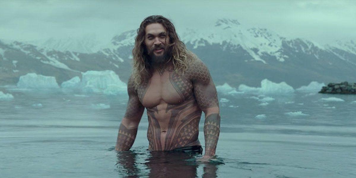 Jason Momoa Shirtless Aquaman