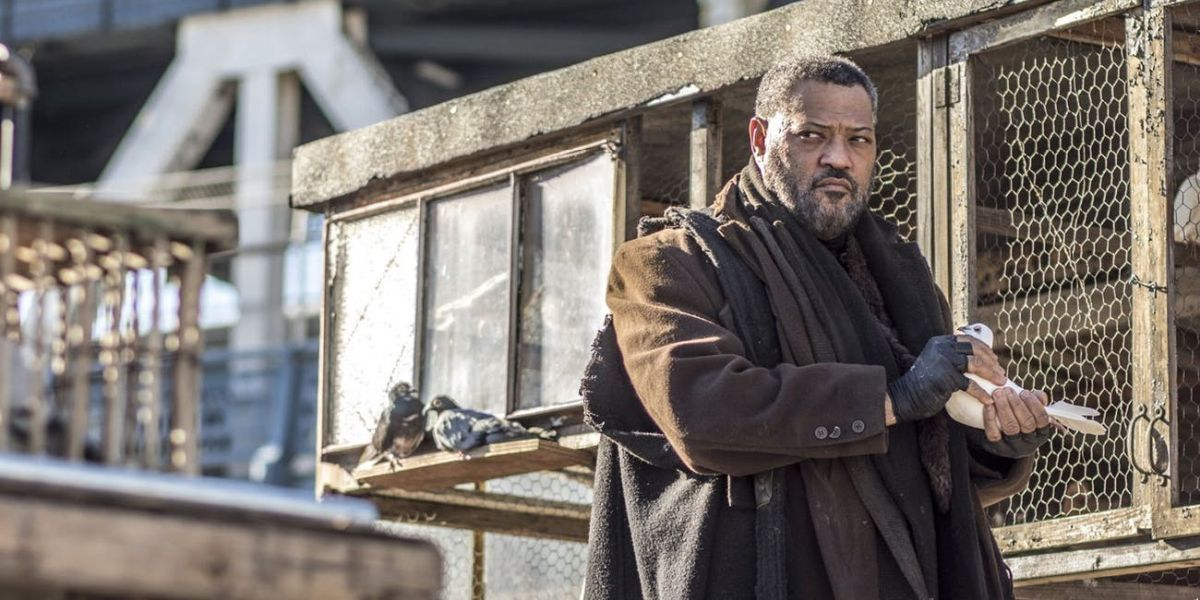 Laurence Fishburne as The Bowery King