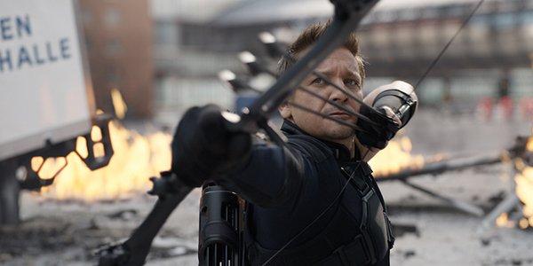 Jeremy Renner in Avengers 4