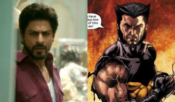 shah rukh khan Wolverine