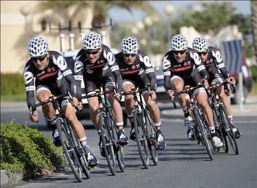 Cervelo, Tour of Qatar 2010, stage 1 TTT
