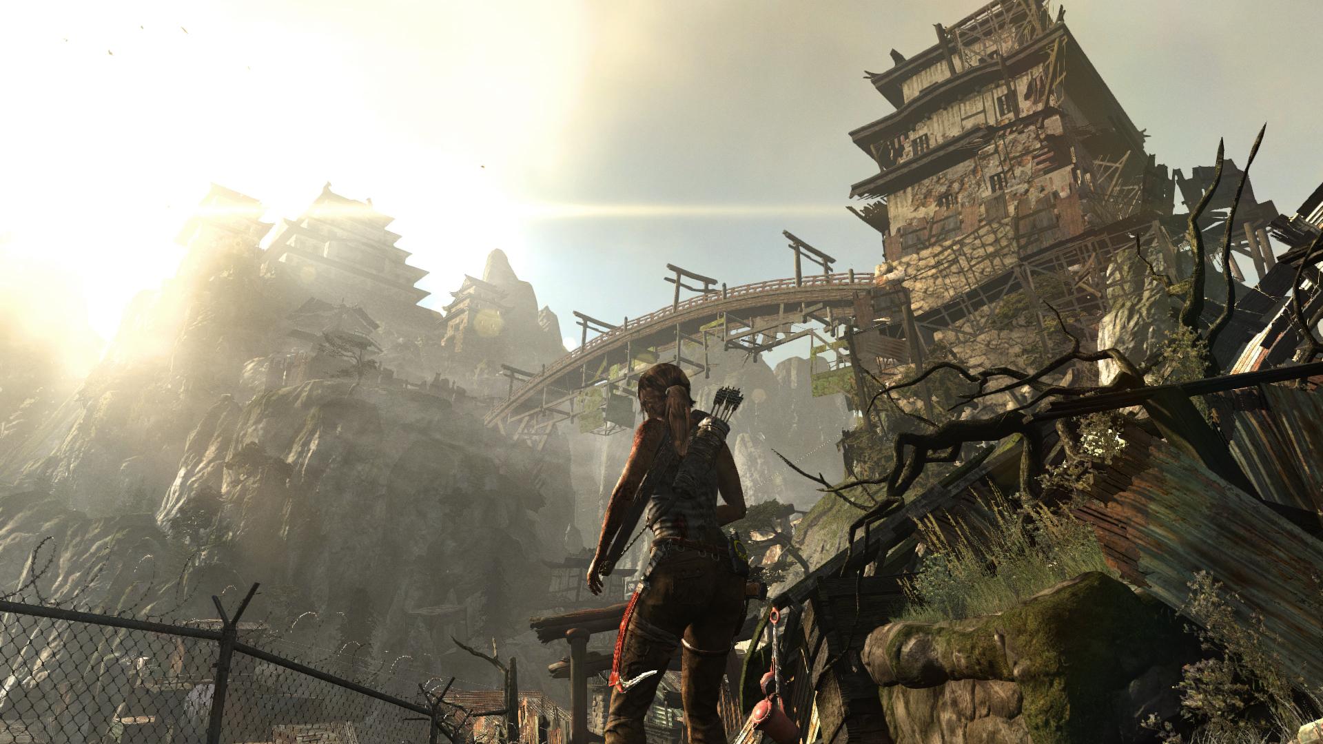 Tomb Raider Screenshots Explore Temple, Fight Samurai #25778