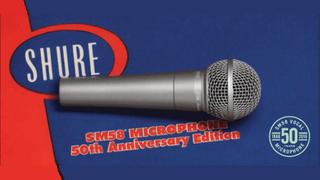 Shure Celebrates 50th Anniversary of SM58