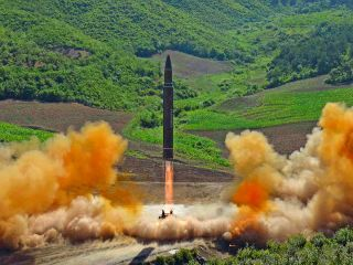North Korea Test-Launches ICBM