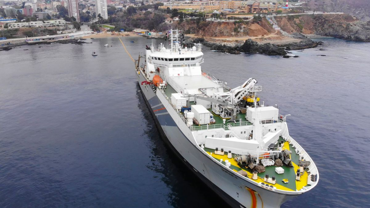 Google is running a new undersea web cable between the US and South America