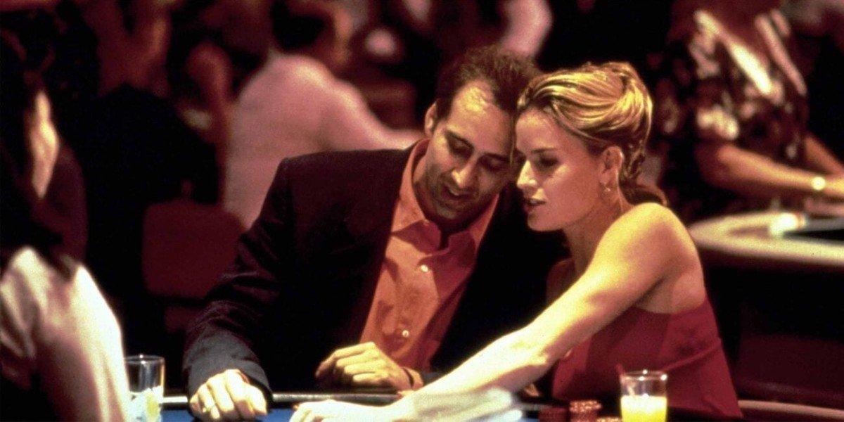 Nicolas Cage and Elisabeth Shue in Leaving Las Vegas