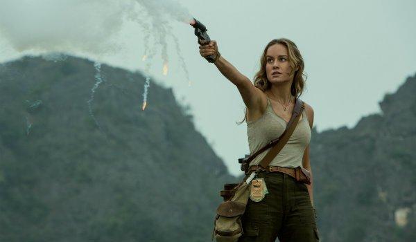 Brie Larson Kong Skull Island