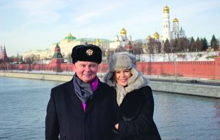Eamonn Holmes and Ruth Langsford continue to explore the lavish lifestyles of the wealthy with a trip to Moscow, where the collapse of Communism in the early 1990s has led to the emergence of a class of mega-rich Russians.