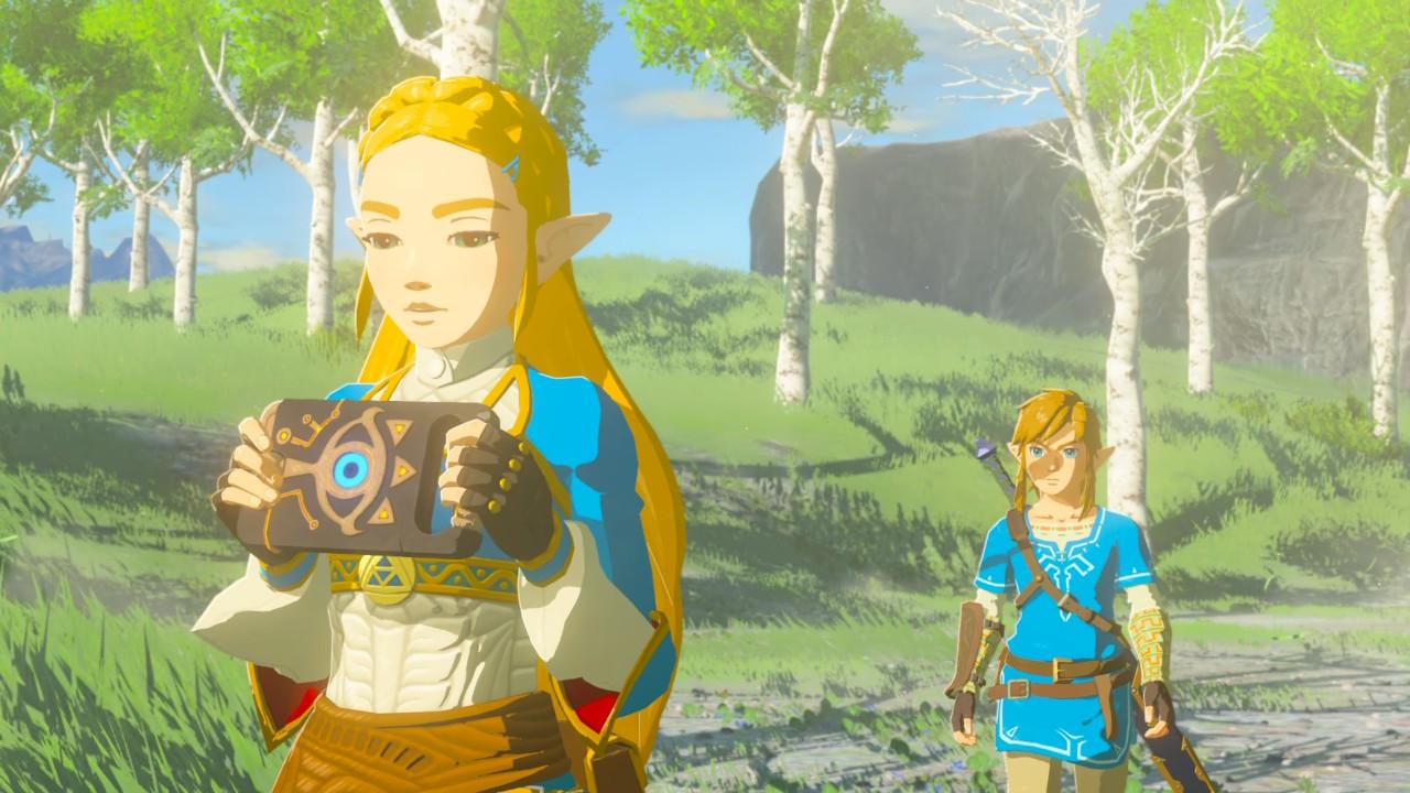The Legend of Zelda: Breath of the Wild Captured Memories