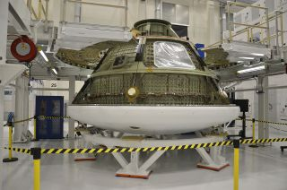 Test Version of the Orion Multi-Purpose Crew Vehicle