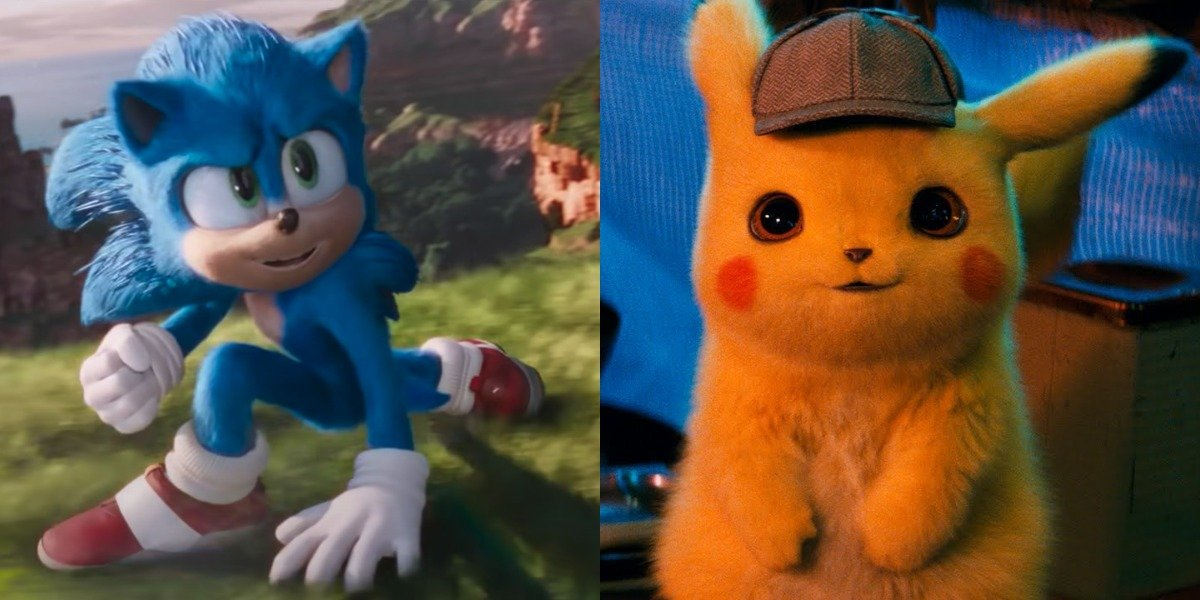 Sonic the Hedgehog and Detective Pikachu