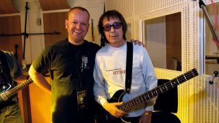 Classic Rock's Scott Rowley with Bill Wyman