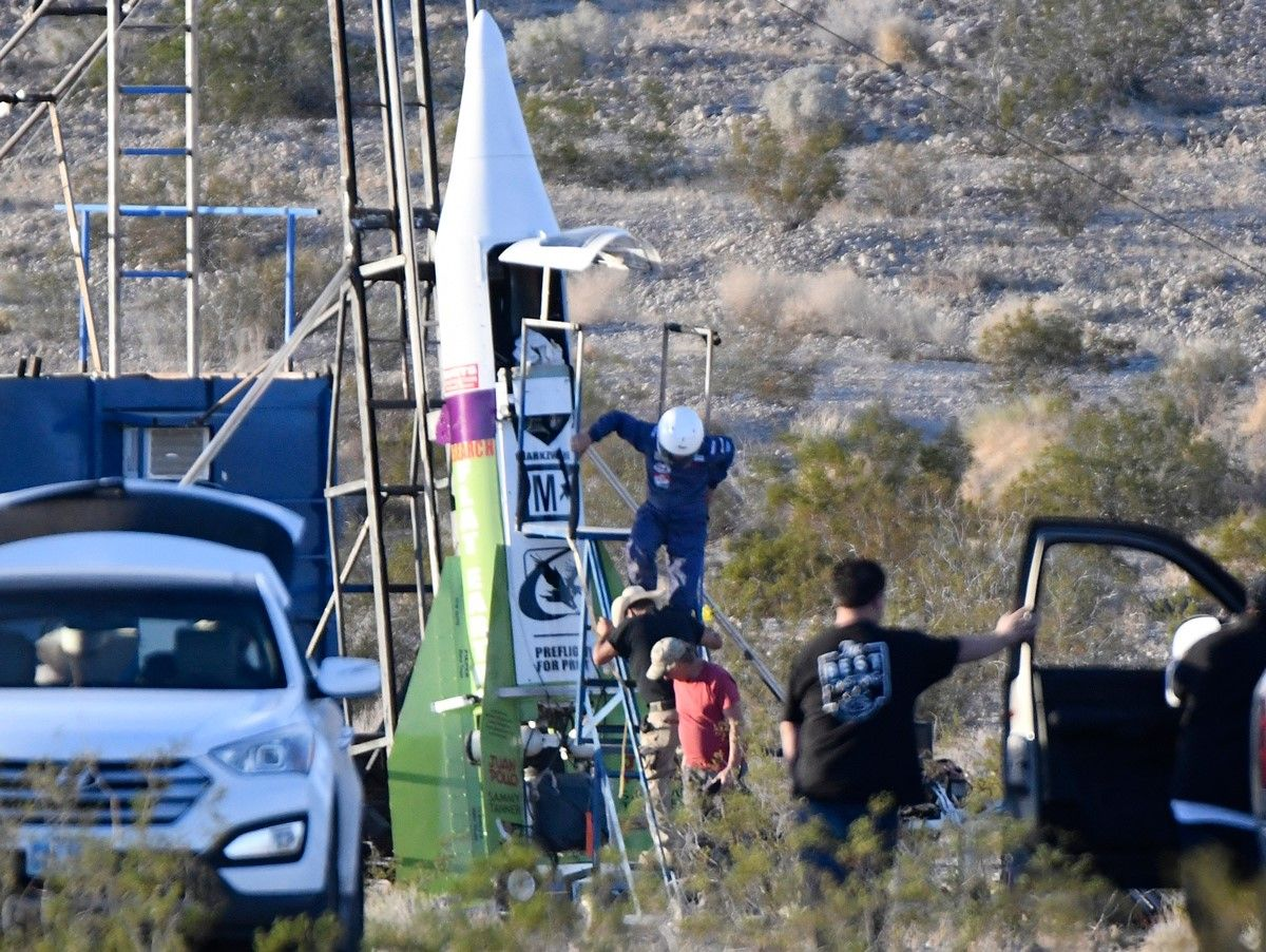 Flat-Earth Rocketeer Fails to Launch (Again)