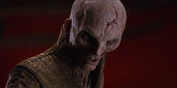 Andy Serkis' Supreme Leader Snoke