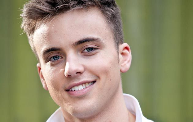PARRY GLASSPOOL PLAYS HARRY THOMPSON IN HOLLYOAKS