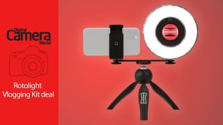 Save £25 on Rotolight Ultimate Vlogging Kit –great ring light deal!