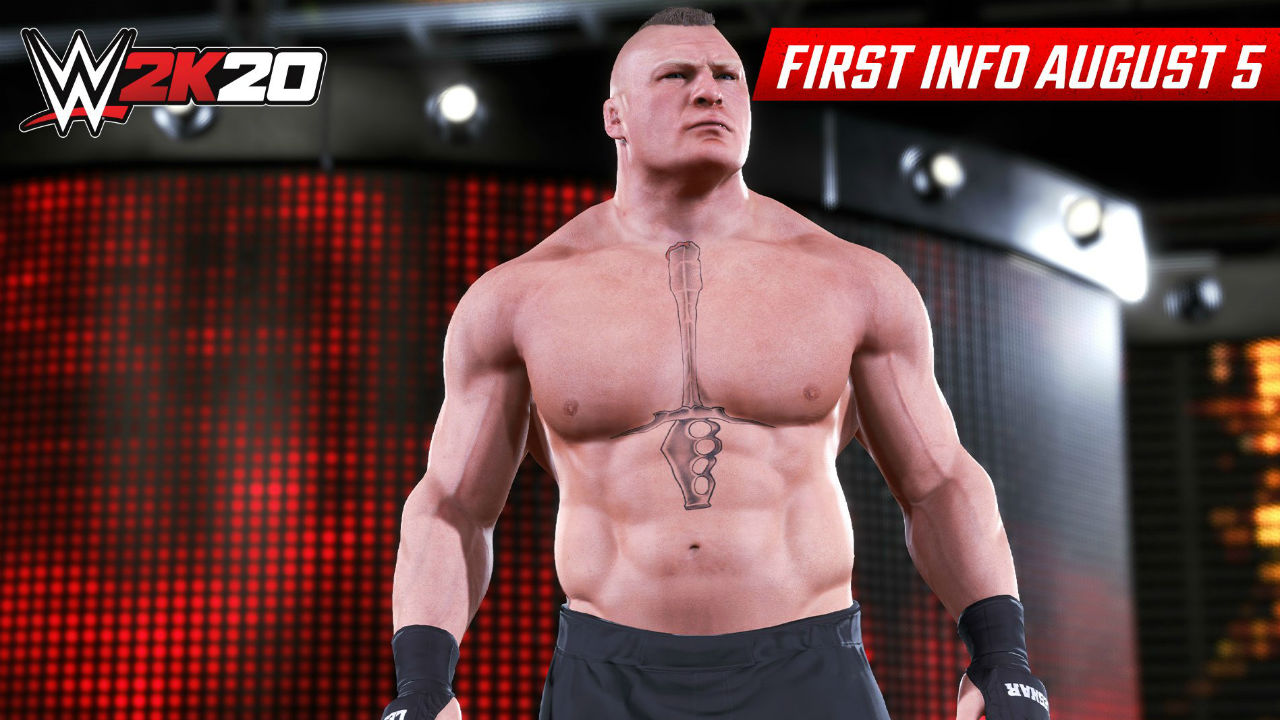 WWE 2K20 confirmed with two screenshots and not a lot else