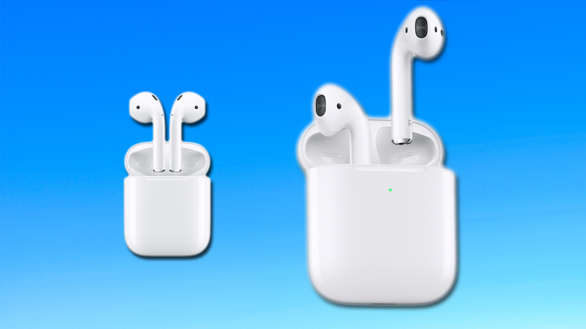 airpods 1 vs airpods 2 back
