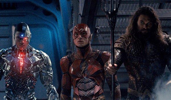 Cyborg, The Flash and Aquaman