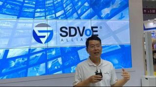 Alan Yang, general secretary of the SDVoE Alliance China Working Group